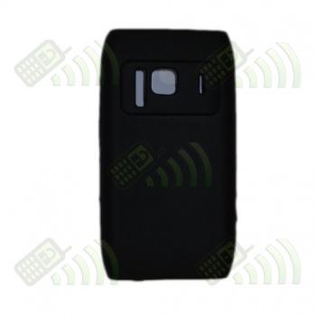 Funda Silicona Nokia N8 Negra