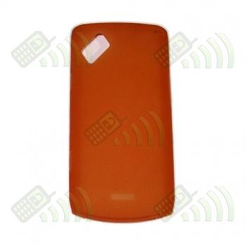 Funda Silicona Gel Samsung Wave 2 S8530 Naranja