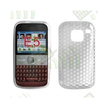 Funda Gel Nokia E5 Transparente Diamond