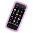 Funda Silicona Nokia 5800 y 5230 Rosa