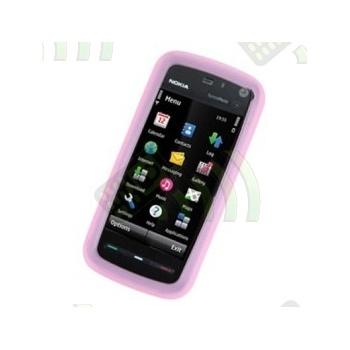 Funda Silicona Nokia 5800 Rosa