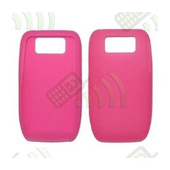 Funda Silicona Nokia E63 Rosa