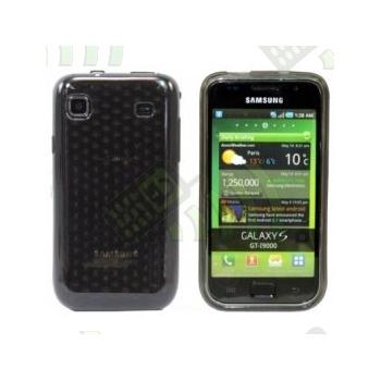Funda Gel Samsung Galaxy S i9000 / S plus i9001 Oscura Diamond