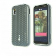Funda Gel LG KM900 Transparente Diamond