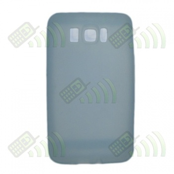 Funda Silicona HTC Touch HD 2 Azul Semitransparente
