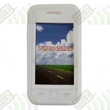 Funda Silicona Samsung S5230 Star Semitransparente