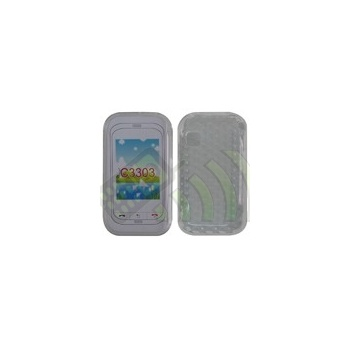 Funda Gel Samsung C3300/C3303 Transparente Diamond