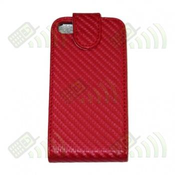 Funda Solapa iPhone 4G Roja