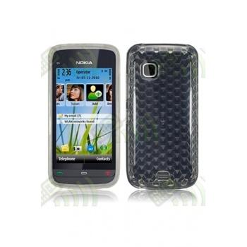 Funda Gel Nokia C5-03 Transparente Diamond