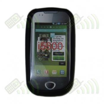 Funda Silicona Samsung Galaxy 3 i5800 Negra