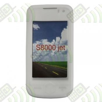 Funda Silicona Samsung Jet S8000 Semitransparente