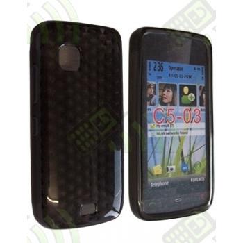 Funda Gel Nokia C5-03 Oscura Diamond