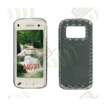 Funda Gel Nokia N97 Transparente Diamond