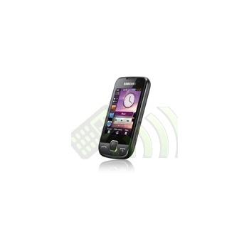 Funda Silicona Samsung S5600 Negra