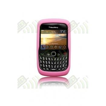 Funda Silicona BB 8520/9300 Curve Rosa