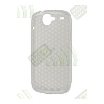 Funda Gel HTC Nexus One Transparente Diam.