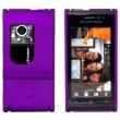 Carcasa trasera Sony Ericsson Satio (Idou) Morada