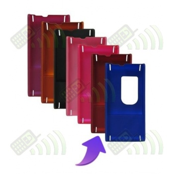 Carcasa trasera Sony Ericsson Satio (Idou) Roja