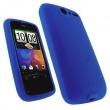 Funda Silicona HTC Desire Azul