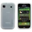 Funda Silicona Samsung Galaxy S i9000 Blanca