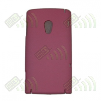 Carcasa trasera Sony Ericsson X10 Rosa