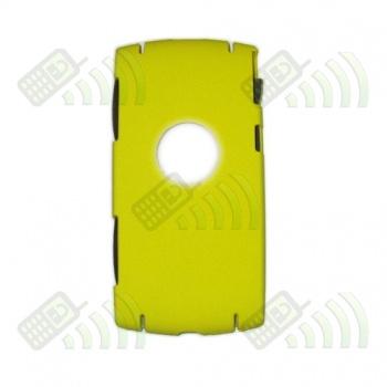 Carcasa trasera Sony Ericsson Vivaz U5i Amarilla