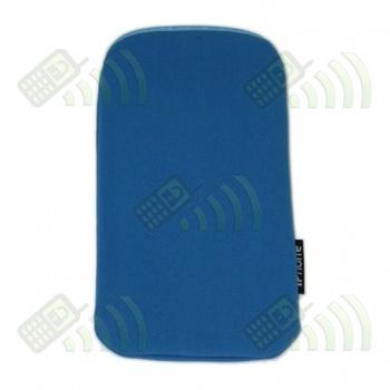 Funda Neopreno Azul iPhone 12,5x7cm