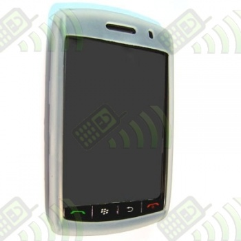 Funda Silicona BB 9500 Semitransparente