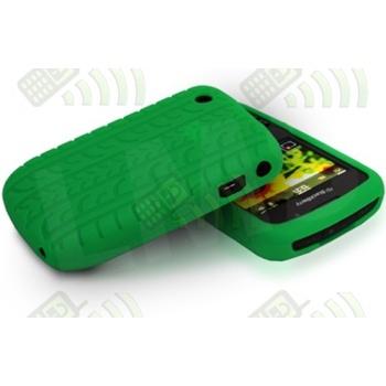 Funda Silicona BB 8520/9300 Curve Verde Neumático
