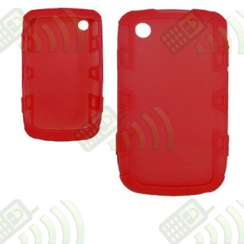 Funda Silicona BB 8520/9300 Curve Roja Reforzada