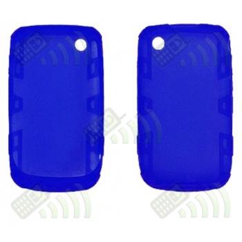 Funda Silicona BB 8520/9300 Curve Azul Reforzada