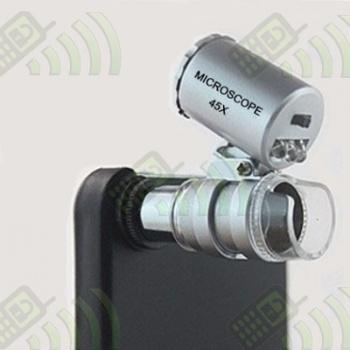 Microscopio Iphone 4 Zoom x45