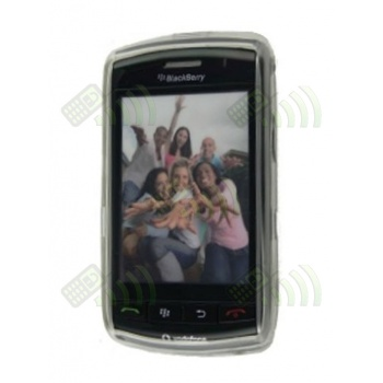 Funda Gel BB 9500/9520/9550 Transparente Diamond