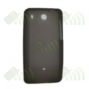 Funda Silicona Gel HTC Hero Oscura