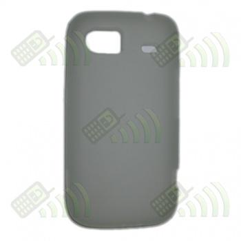 Funda Gel HTC 7 Trophy / Mozart HD3 Semitransparente