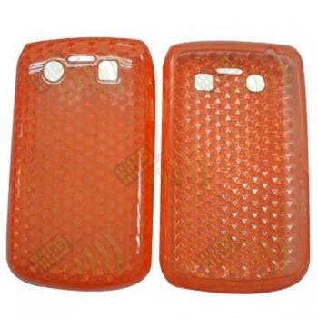 Funda Gel BB 9700/9780 Bold Naranja Diamond