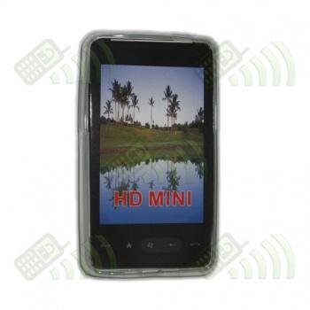 Funda Gel HTC HD Mini Semitransparente