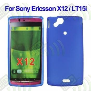 Funda Silicona Gel SE Xperia X12 Arc Azul