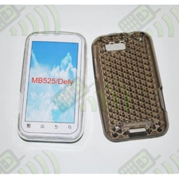 Funda Gel Motorola MB525/ME525/Defy Oscura Diamond