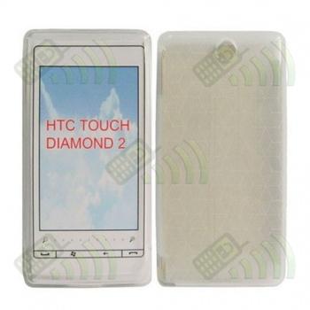 Funda Gel HTC Diamond 2 Transparente Diam.