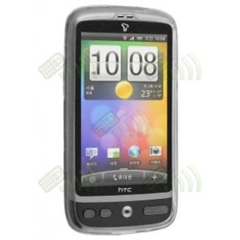 Funda Gel HTC Desire Transparente Diam.