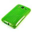 Funda Gel HTC Desire HD Verde Diam.