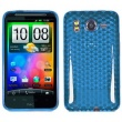 Funda Gel HTC Desire HD Azul Diam.