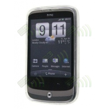 Funda Gel HTC Wildfire Transparente Diam.