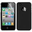 Carcasa trasera Moshi Iphone 4 Negra