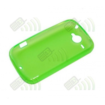 Funda Gel HTC Wildfire Verde