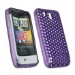 Funda Gel HTC Legend Morada Diam.