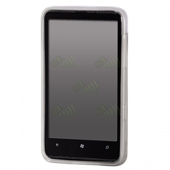 Funda Gel HTC 7 Trophy / Mozart HD3 Transparente Diam.