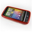 Funda Gel HTC Desire Roja