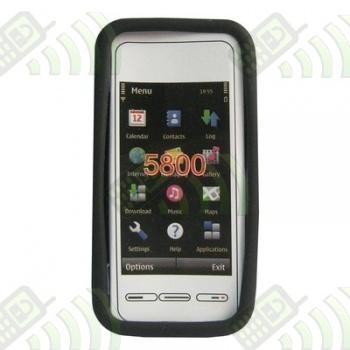 Funda Silicona Nokia 5800 y 5230 Negra